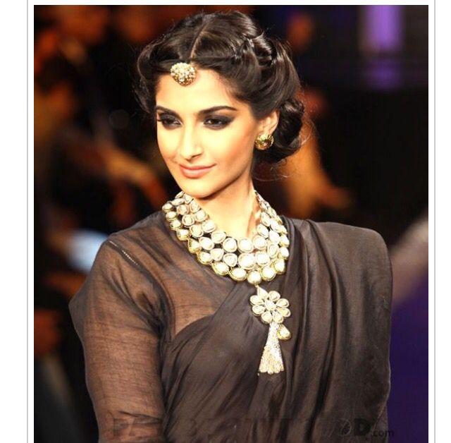 Indian Bridal Hairdo