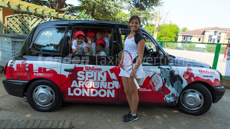 Game, Set and Match with Laura Robson and London Taxi Advertising