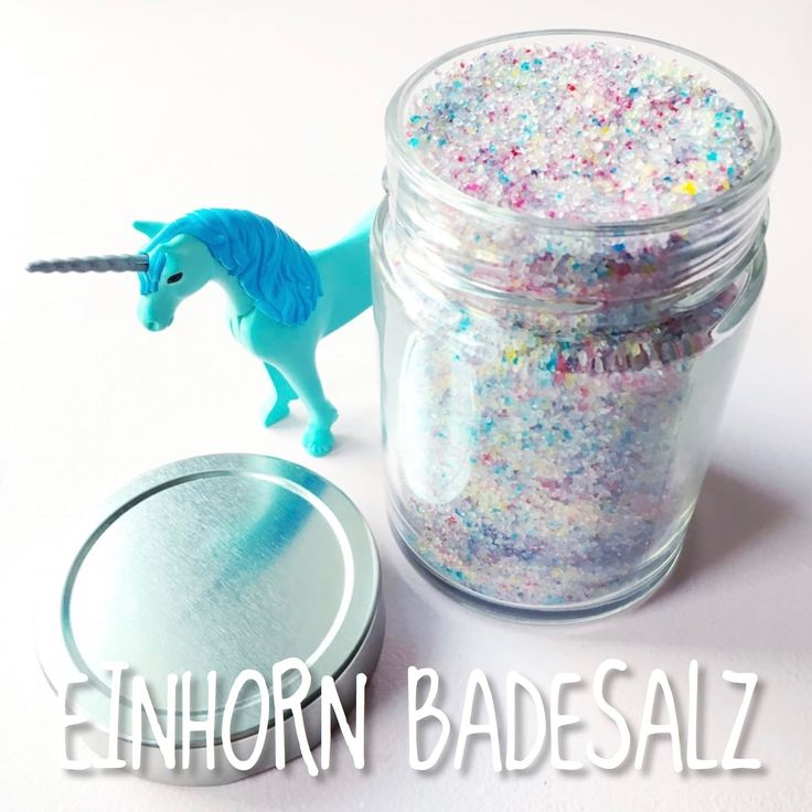 Unicorn Bath Salt, Einhorn Badesalz, Einhorn, Unicorn, Baden, Badesalz, DIY Einhorn Badesalz, Home Spa, DIY, Wellness, Bath, Bathing, Baden
