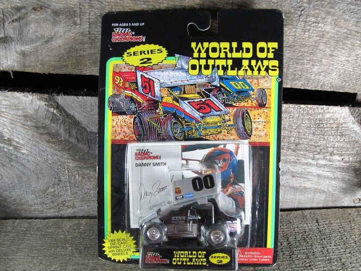 Danny Smith #00, Racing Champions, World Of Outlaws, Sprint Cars 1994, 1/64 Scale Die Cast Model Car, Series 2, Collectible Toys by TheStorageChest on Etsy