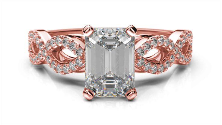 Zásnubný prsteň Tala emerald