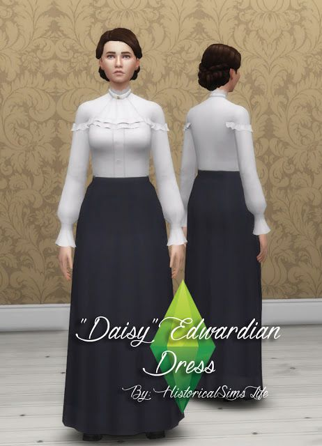 history lovers sims blog daisy edwardian dress sims 4 downloads check more at http