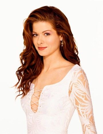 "Debra Messing played ""Grace Adler"" on ""Will & Grace""."