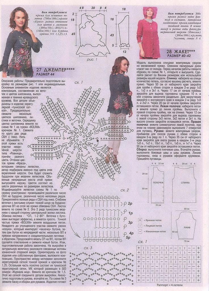 журнал мод вязание картинки со схемами есть фотографии бывших