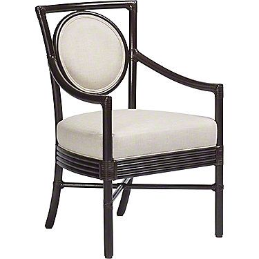 McGuire Furniture: Orlando Diaz-Azcuy Salon(TM) Arm Chair: M-222B
