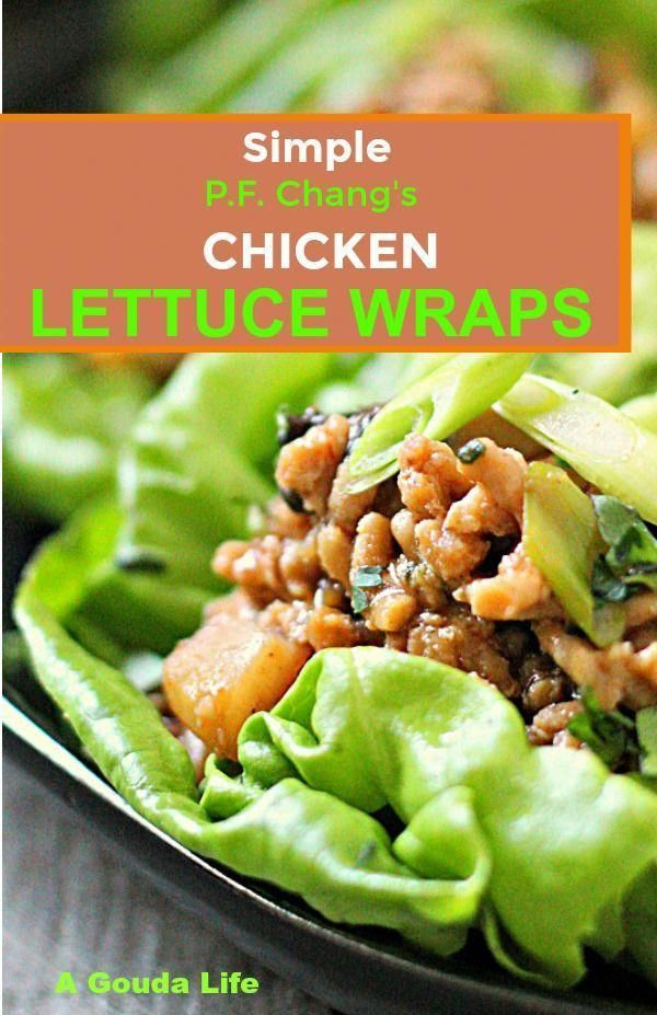 simple pf chang chicken lettuce wraps  make in just 20 minutes delicious authen… in 2020