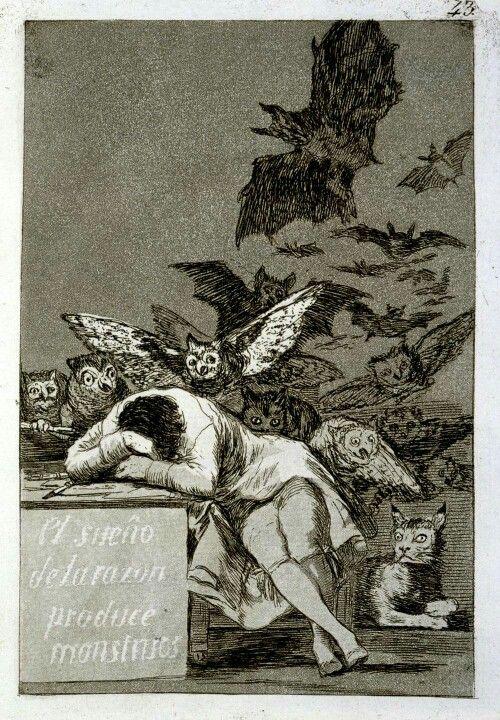 Dibujo de Goya (grabado)  British Museum