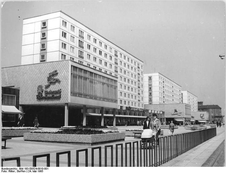 Magdeburg Karl-Marx-Strasse May 1965