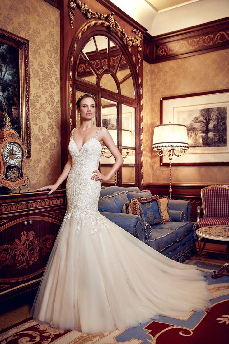 60 best Wedding Gowns images on Pinterest   Homecoming dresses ...
