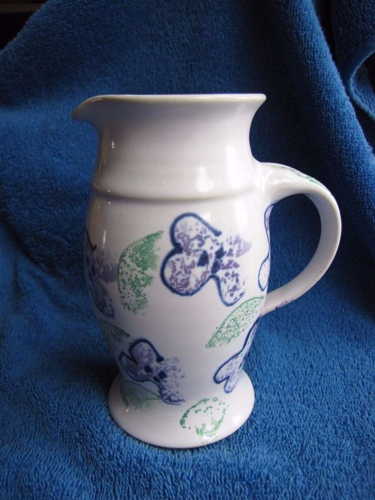 Sweden Studio Gunnel Skugghall Goteborg pottery Creamer scandinavian keramik
