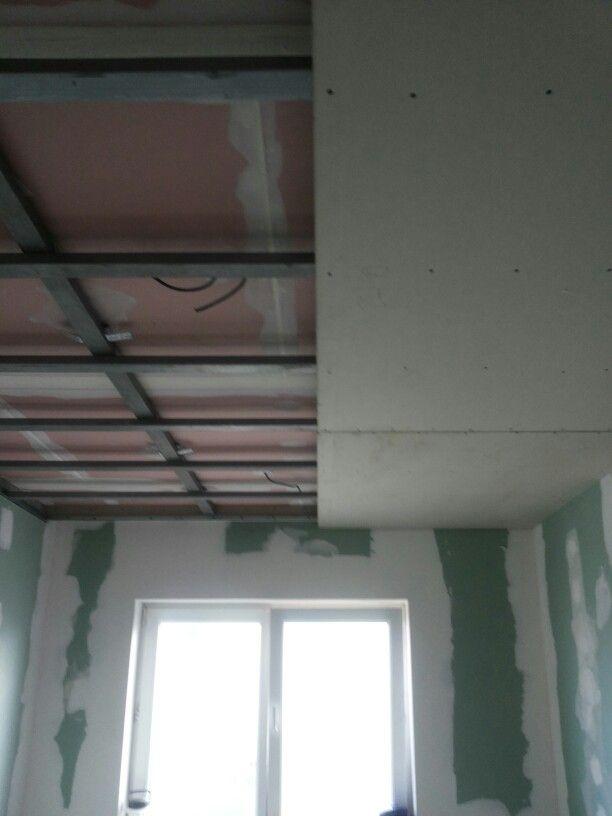 Detail strop pracovna