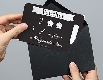 """Check out new work on my @Behance portfolio: """"Cooking Voucher Design"""" http://be.net/gallery/32750009/Cooking-Voucher-Design"""