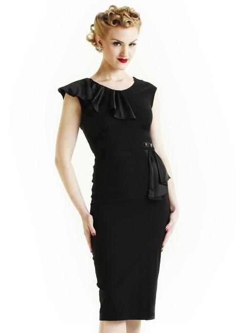 Stop Staring Film Noir Dress