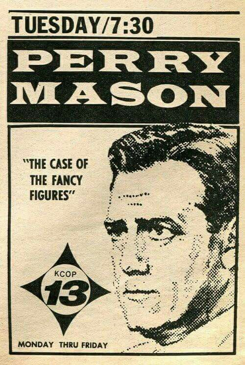 Newspaper ad for Perry Mason