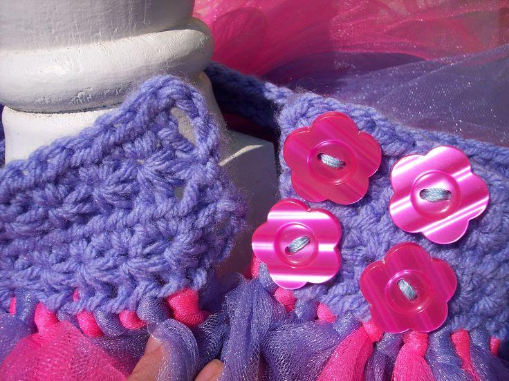 adjustable crochet tutu