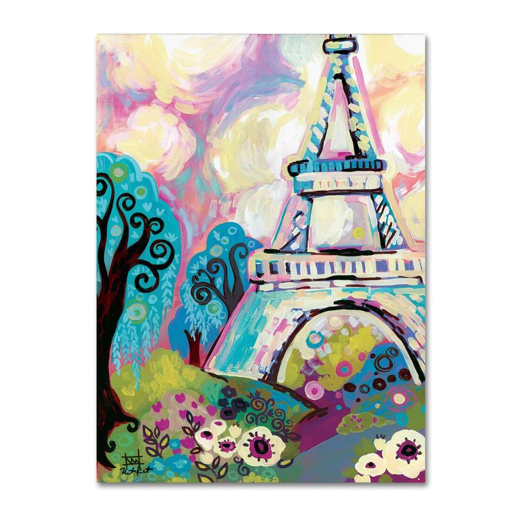 Natasha Wescoat 'La Dame De Fer' Canvas Art