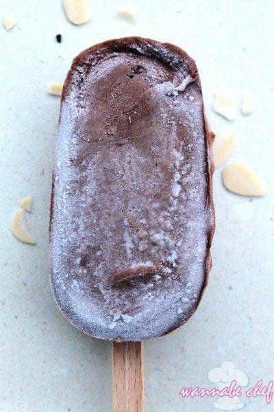 Csokikrémes pálcikás házi jégkrém | Wannabe Chef