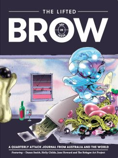 BROW (2015). The lifted brown. Issue 28. Art Direction by Rosseta Mills. Australia. Use of GT Sectra and Walsheim on the mag.