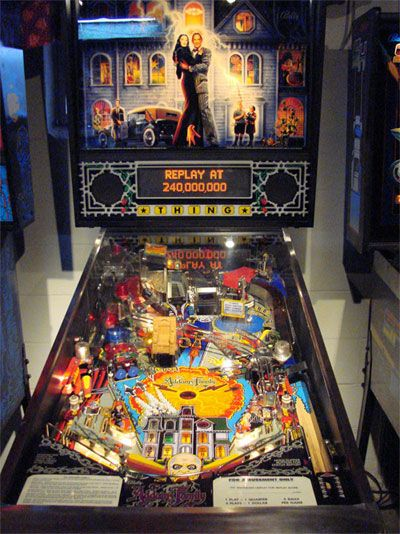 Addams Family Pinball Machine For Sale Parts Accessories #addamsfamily #pinball