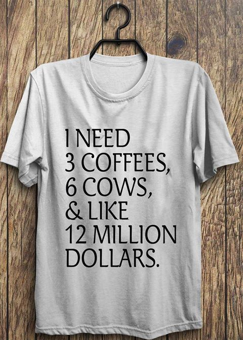 Great shirt for us cow lovers!