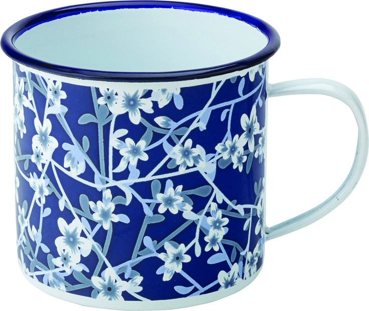Floral tableware by Smart Hospitality Supplies. Cups and mugs from the Utopia Heritage Range.