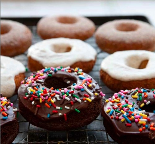 Gluten Free Doughnuts Recipe | GF Goodness | Pinterest ...