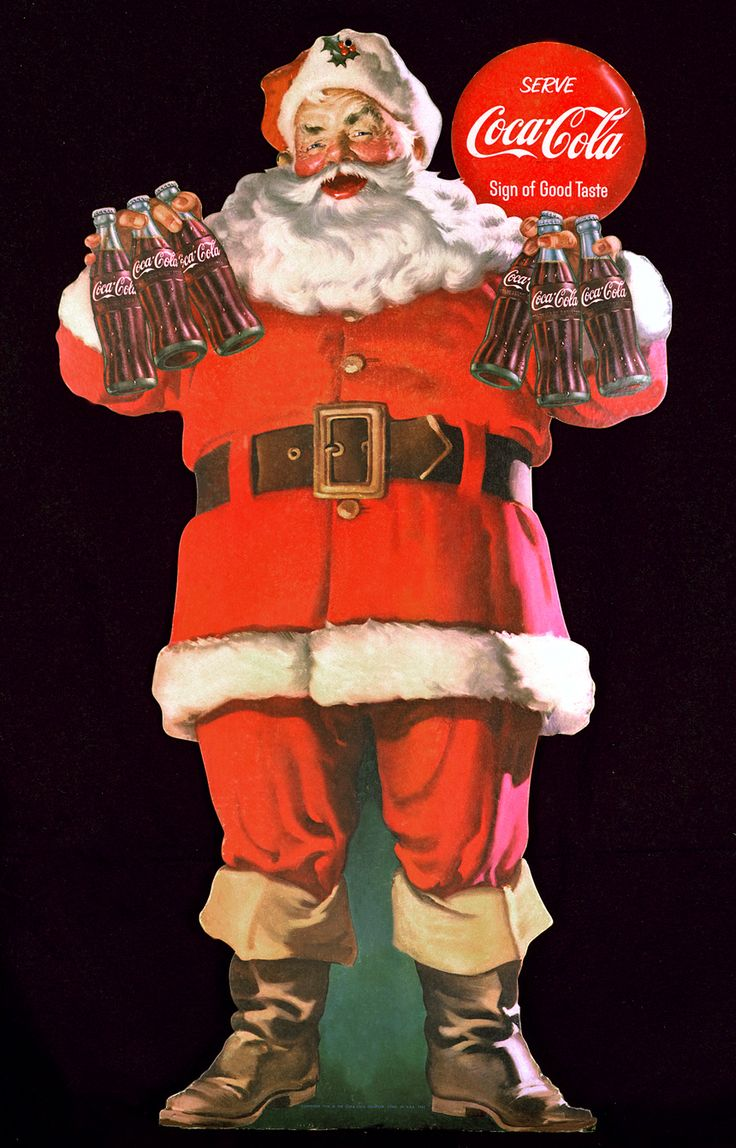 COKE CHRISTMAS PICTURES | Coca-Cola Santa Claus: Coke Christmas Art by Haddon Sundblom | Coca ...