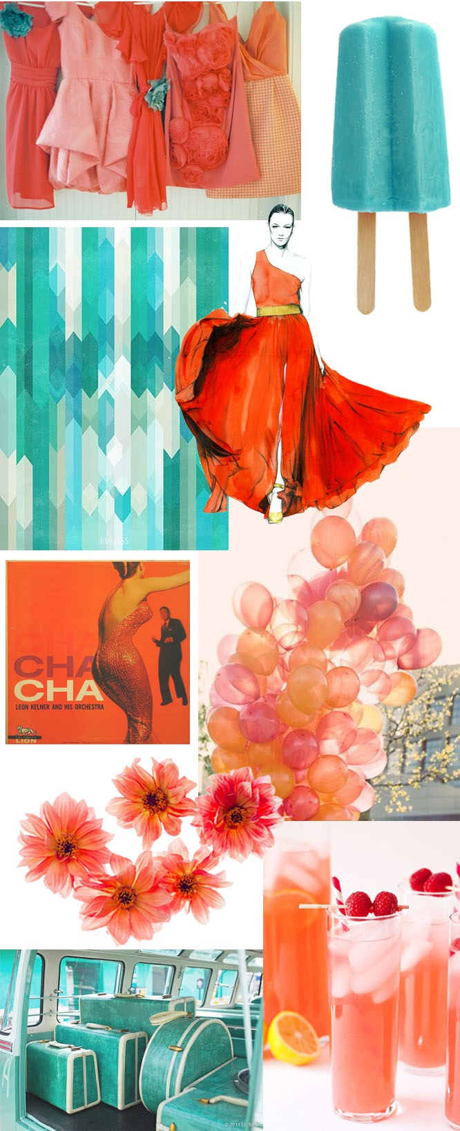 Coral Color Combinations 87 Best Pretty Colorful Things Images On Pinterest Colors