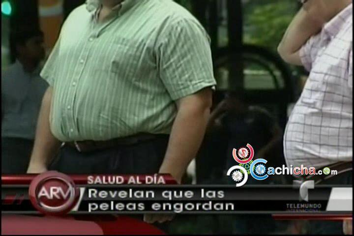 Revelan Que Peleas De Parejas Hacen Engordar #Video @AlRojoVIvo