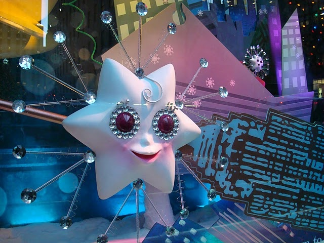 Twinkle, the snowflake. By #Saksfifthavenue