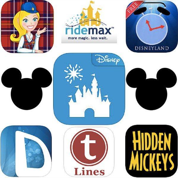 7 Disneyland Apps, die man gesehen haben muss
