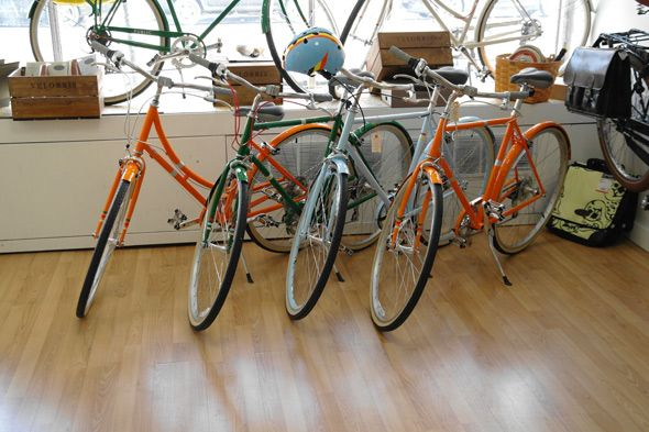 Cycle Couture — where commuter bikes meet high fashion. 926 College St.