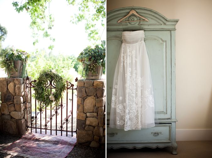 Repinned from wwwsnippetandink.com/elegant-ojai-garden-wedding/#
