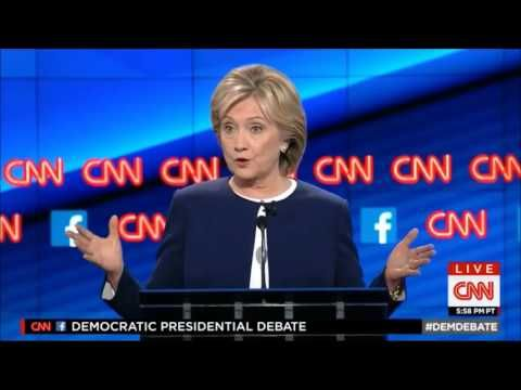 First Democratic Presidential Debate 2016 by CNN 10-13-2015 - FULL