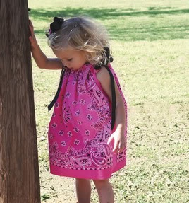 The Craft Mom: Adorable Toddler Bandana Dress Project