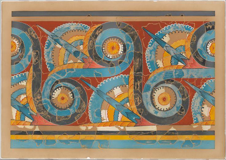 Minoan Frescoes | Picture-Gallery---Minoan---Mycenaean-Frescoes