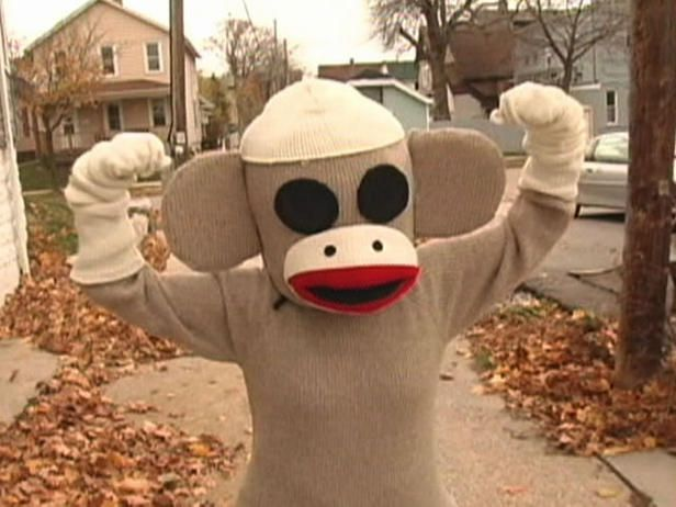 29 Homemade Halloween Costumes (for adults): Sock Monkeys, Adult Halloween, Socks Monkey Costumes, Costume Ideas, Diy Adult, 29 Diy, Sock Monkey Costumes, Costumes Ideas, Homemade Halloween Costumes