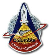 NASA STS-1 Columbia Embroidered Space Shuttle Mission Patch Mission First Shuttle Mission Shuttle Systems Test Flight Space Shuttle Columbia Launch