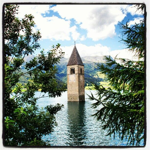 #Curon - #Lago di Resia » @dyd0107 » Instagram Profile » Followgram