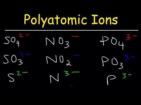 how to remember polyatomic ions - YouTube. GUYS THIS WORKS!!!!!!!!!!!!!!!!!!!!!!