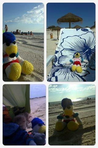 Con estas manazas: Las vacaciones de Orson #amigurumi #crochet #ganchillo