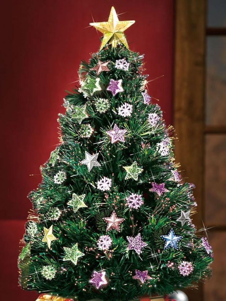 Rotating Artificial Christmas Trees