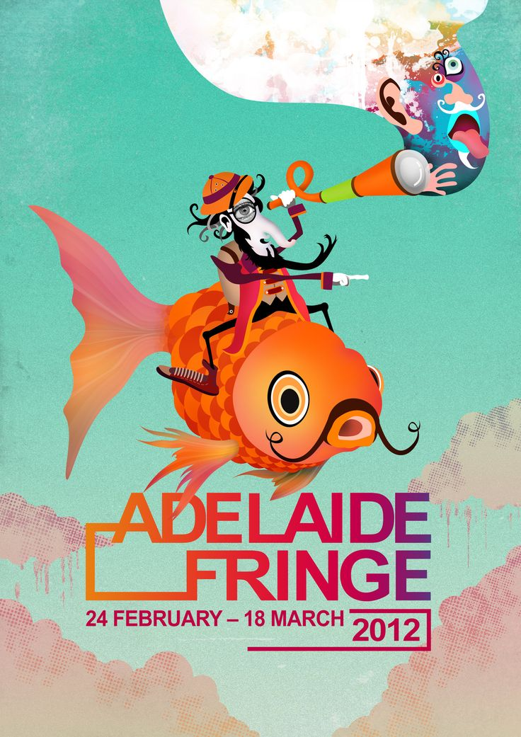 Adelaide Fringe 2012 Poster by iamthewizard2.deviantart.com on @DeviantArt