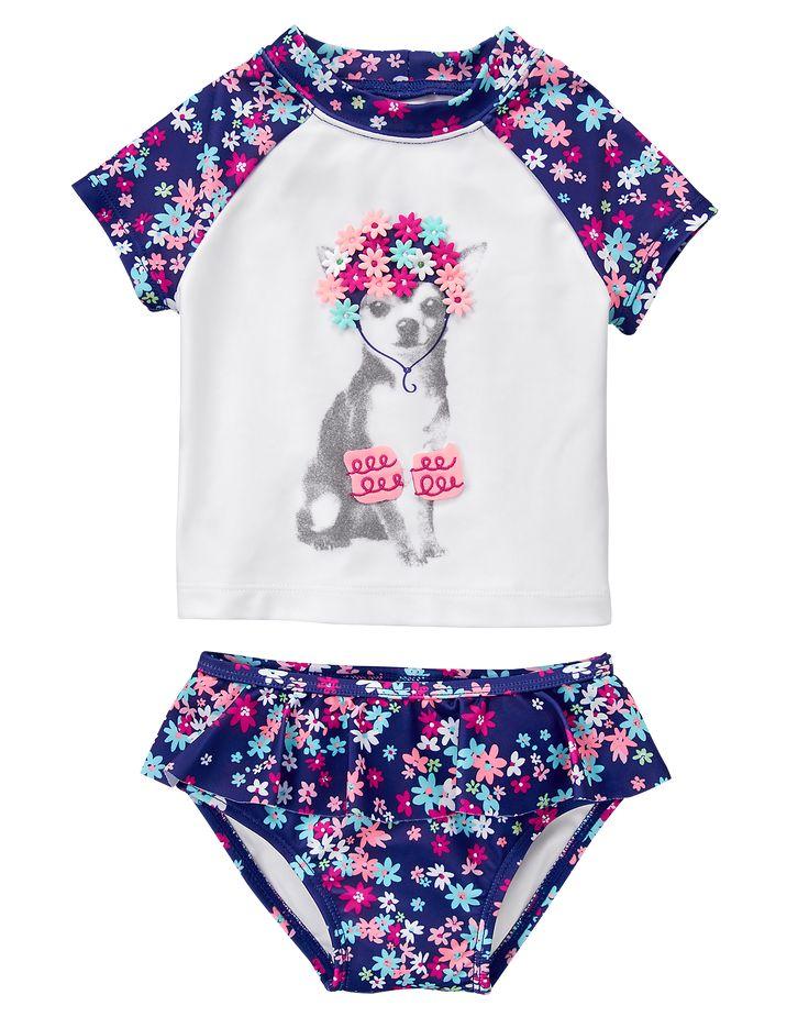 Puppy 2-Piece Swim Set GYMBOREE - Item #140166047 $29.95 on sale $20.97 - Feb 2017