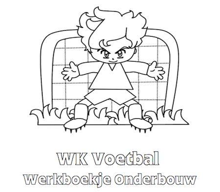 WK Voetbal Werkboekje Onderbouw