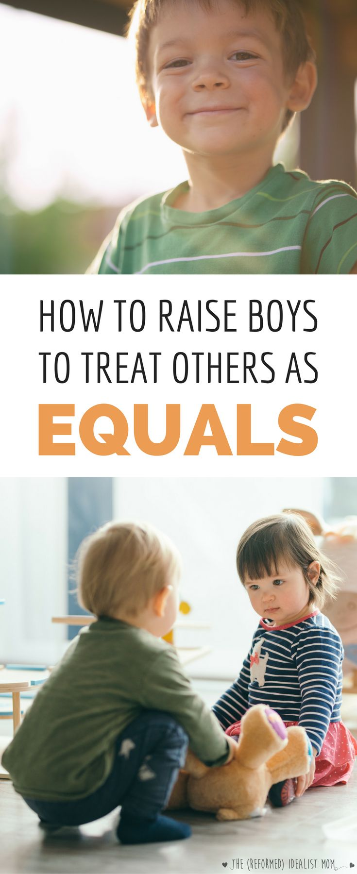 Every boy mom wants to raise her son to treat others with kindness and respect, but how do you do it? Here are 5 simple but powerful ways you can teach boys to respect women and girls.