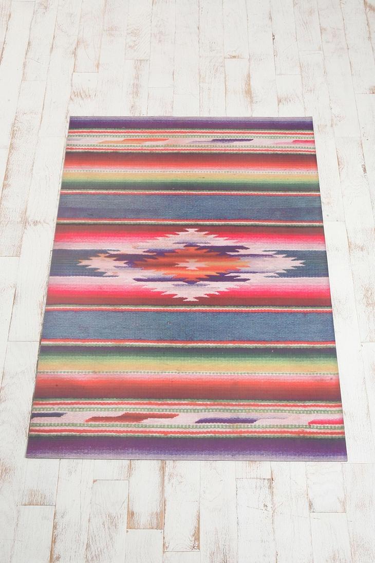 Tromp L Oeil Floor Mat Serape Floorcloths Pinterest