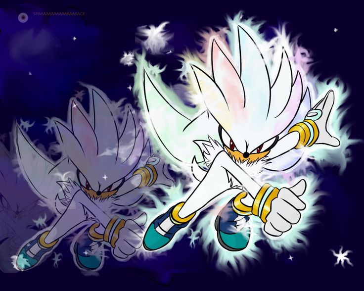 hyper demon silver the hedgehog sonic the hedgehog what