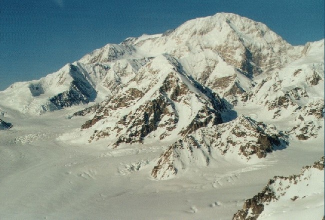 Vinson Massif. Highest mountain in Antarctica.