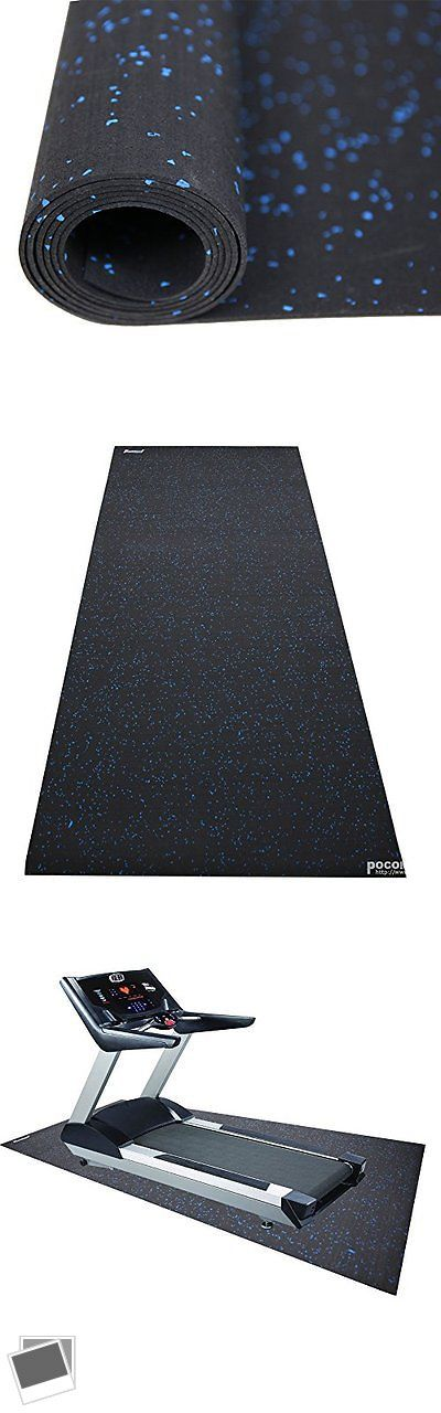 Equipment Mats and Flooring 179806: Revtime Treadmill Mat 6.5X3 (78X36)Heavy Duty Fitness Equipment Rubber Mat -> BUY IT NOW ONLY: $83.49 on eBay!